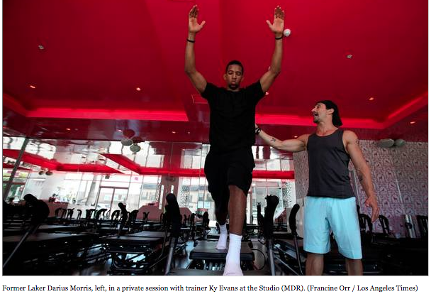 Pilates-inspired method that tests top athletes, including NBA players